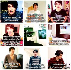 Gallery For > Dan And Phil Quotes