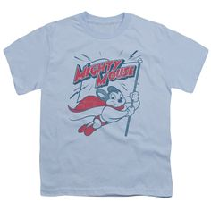 """Checkout our #LicensedGear products FREE SHIPPING + 10% OFF Coupon Code """"Official"""" Mighty Mouse / Mighty Flag - Short Sleeve Youth 18 / 1 - Mighty Mouse / Mighty Flag - Short Sleeve Youth 18 / 1 - Price: $29.99. Buy now at https://officiallylicensedgear.com/mighty-mouse-mighty-flag-short-sleeve-youth-18-1"""