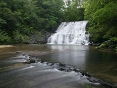 Ach Waterfall near Dahlonega
