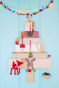 10 Ideas de decoración navideña con niños en casa