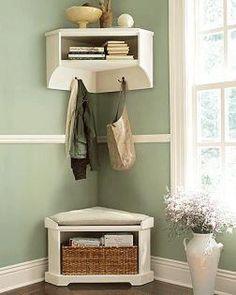 Recibidores pequeños, ¿bonitos y útiles? | Decorar tu casa es facilisimo.com