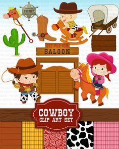 Hey, I found this really awesome Etsy listing at https://www.etsy.com/listing/163463862/cowboy-clip-art-wild-west-clipart-set
