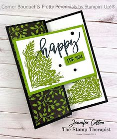Fun Fold Cards, Folded Cards, Card Making Inspiration, Making Ideas, Card Making Templates, Bouquet, Hand Made Greeting Cards, Hand Stamped Cards, Card Making Supplies