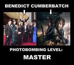The Master of photobombing