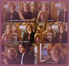 TRIANGLE ~ clever, hysterical BTVS ep... best writing!!