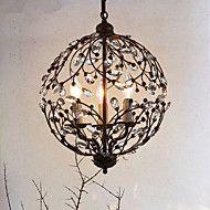 5 Island Light ,  Traditionel / Klassisk Maleri Trekk for Krystall Metall Stue Spillerom – NOK kr. 4.884
