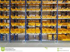 Smart storage bin shelves beautiful best shop organization images on Warehouse Plan, Warehouse Design, Warehouse Layout, Warehouse Project, Storage Bin Shelves, Smart Storage, Office Supply Organization, Workshop Organization, Warehouse Shelving