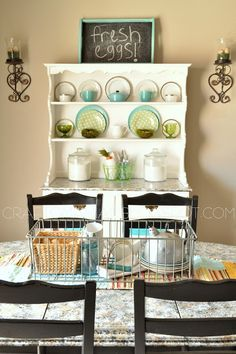 Craft O Maniac Spring Home Decor Hutch