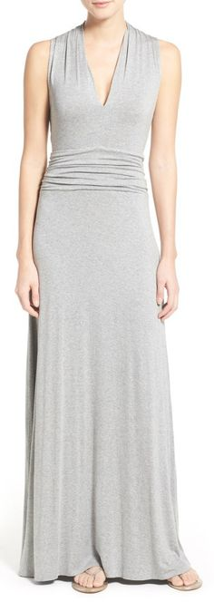 This jersey maxi dress should be a staple in every closet!
