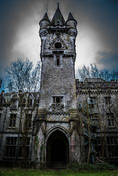 Miranda Castle - abandoned in Celles, Belgium.