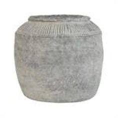 Cement bloempot HK LIVING - MaisonDuPont