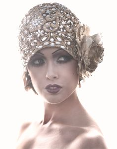 Jeweled Cloche