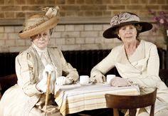 The Dowager Countess-Violet Crawley and cousin Isobel Crawley Season I