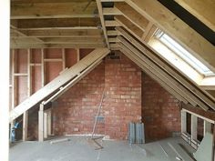 Four Attic Renovation Ideas to Give New Life to Unused Space - Attic Basement Ideas Loft Conversion Eaves, Loft Conversion Design, Loft Conversion Bedroom, Loft Conversions, Bungalow Loft Conversion, Attic Loft, Loft Room, Bedroom Loft, Bungalow Extensions