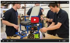 BYU Students Make World's Lightest, Least Expensive Motorized Wheelchair - pinned by @PediaStaff – Please Visit  ht.ly/63sNt for all our pediatric therapy pins