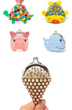 adorable coin purses