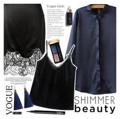 """Silk"" by vanjazivadinovic ❤ liked on Polyvore featuring Guerlain, Givenchy, NARS Cosmetics, polyvoreeditorial and zaful"