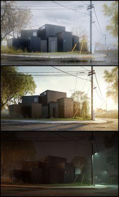 House O - Jun Igarashi Architects by Marcin Jastrzebski | Architecture | 3D | CGSociety