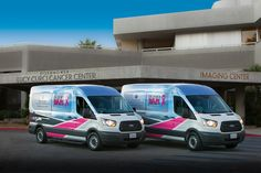 DesertWraps.com is proud to have worked with many non-profit organizations here in the Desert. We wrapped these Bam Vans for Lucy Curci Cancer Center and Bighorn Bam in 2016. Visit BamVan.org or @BighornBam on Facebook for information on the organization.