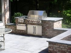 outdoor patio grill station - Google Search