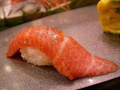 Chu Toro (medium fatty tuna) by jetalone, via Flickr