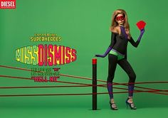 pixelpasta: Diesel: Fresh & Bright Superheroes