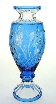 Crystal Vases | Crystal Vase manufactured in Hungary by Ajka Crystal. Fine crystal ...