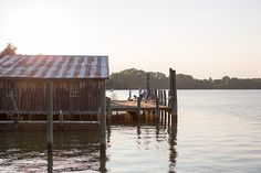 """A warf on the Rappahannock River in Virginia. """"The river is the reason Wheatland and all the other beautiful old homes are here.""""— Peter Bance. Photo by Patricia Lyons. 