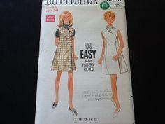 Butterick pattern 5000. Vintage uncut 1968 misses' by Stitchandzip