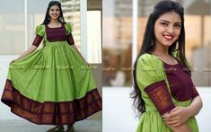 Lovely Long Ethnic Suits That Will Make You Say WOW! is part of Party wear frocks - Trendy designs inside Salwar Designs, Lehenga Designs, Half Saree Designs, Kurti Designs Party Wear, Long Gown Dress, Sari Dress, Frock Dress, Saree Gown, Patiala Dress