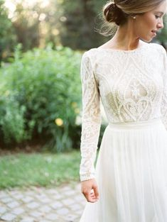 Wedding Gown 25 Modest Wedding Dresses with Long Sleeves - Long Sleeve Wedding Dress Cheap Gowns, Cheap Wedding Dresses Online, Country Wedding Dresses, Country Weddings, Wedding Dresses Canada, Wedding Country, Indian Weddings, Wedding Dress Winter, Winter Bride