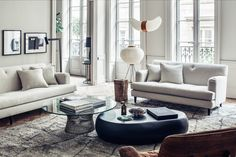 Rue Bizolon Residence by Maison Hand   PC: Felix Forest   Featured: Platner Coffee Table   Knoll Inspiration