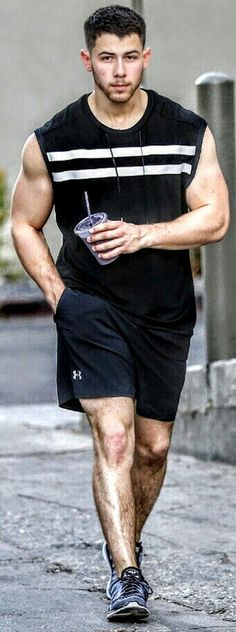 NickJonas. #musclefitness