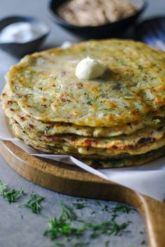 Akki Rotti/ Rice-Dill Rotti (gluten free)  foodfashionparty  #glutenfree #flatbread