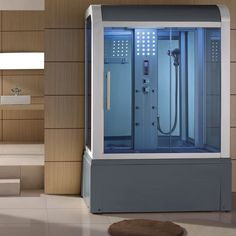 Eagle Bath WS-501 Steam Shower with Jacuzzi Ariel SS-609A Steam Shower with Jacuzzi.