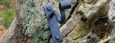 Wrought iron curtain pole bracket
