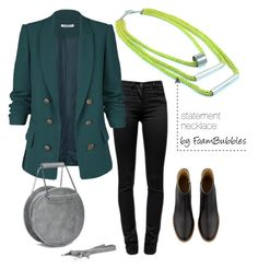 """""""Fall Outfit"""" by foam-bubbles on Polyvore featuring T By Alexander Wang and A.P.C."""
