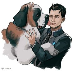 Detroit become human | DBH | Connor and sumo