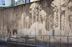 reverse graffitti in Durban, South Africa...LOVE.