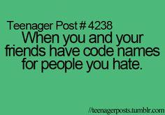 Or people we like. :P