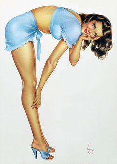 Classic...would love to have a Vargas pinup