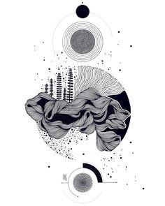 Pin by aarohi atish * on cute doodles in 2019 art sketches, art sketchbook, Art Sketches, Art Drawings, Dibujos Zentangle Art, Illustration Art Nouveau, Abstract Line Art, Ink Illustrations, Pen Art, Geometric Art, Art Sketchbook