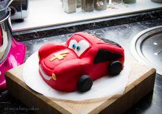 ★ Lightning McQueen ★ Cake  | Veri's Fairy Cakes