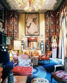 Gucci at Tony Duquette's Dawnridge Estate - The Neo-Trad