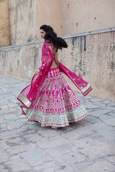 #AnitaDongre #heritage #pink #Indian #indianroots #ethnic #traditional #bride #jaipur