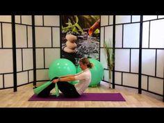 Pilates Serie3 Abdominales con Banda Elastica Nivel Intermedio - YouTube
