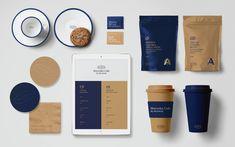 New Ideas Design Studio Ideas Business Inspiration Coffee Shop Branding, Coffee Shop Business, Coffee Shop Logo, Cafe Branding, Restaurant Branding, Coffee Packaging, Food Packaging Design, Brand Packaging, Brand Identity Design