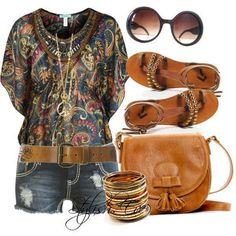 wear to an outdoor concert