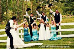 (via Seattle Real Weddings - Ross James Wedding Photography: A Cowboy Wedding)