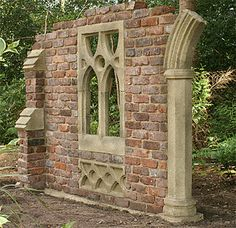 Garden Dreams - The Gothic Folly Specialists...so doable  I have always wanted a ruin for my garden...